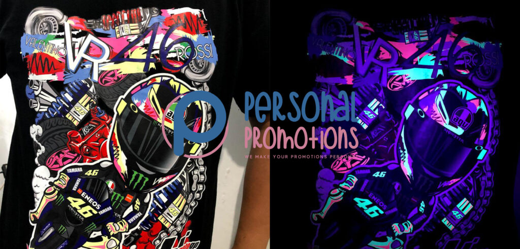Personal Promotions Neon DTF printing