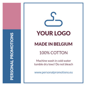 Custom Neck Label Personal Promotions